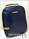 [สีน้ำเงิน] กระเป๋าเป้สะพายหลัง Backpack แฟชั่นเกาหลีทั้งผู้ชายและผู้หญิง