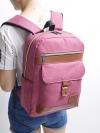 [สีชมพู] กระเป๋าเป้สะพายหลัง Backpack แฟชั่นเกาหลีทั้งผู้ชายและผู้หญิง