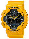 นาฬิกา คาสิโอ Casio G-Shock Standard Analog-Digital รุ่น GA-100A-9A (BUMBLE BEE) (SHOCK SALE!!)