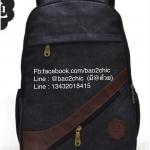 [สีดำ] กระเป๋าเป้สะพายหลัง Z917-3
