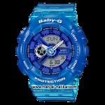 นาฬิกา Casio Baby-G BA-110JM Jelly Marine series รุ่น BA-110JM-2A ของแท้ รับประกัน1ปี