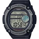นาฬิกา คาสิโอ Casio แบตเตอรี่ 10 ปี รุ่น AE-3000W-1AV ของแท้ รับประกัน 1 ปี