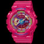 นาฬิกา คาสิโอ Casio Baby-G Girls' Generation Hyper Color series รุ่น BA-112-4A