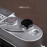 Soft Shutter Release ปุ่มใหญ่ เว้าลง สีดำ กดง่ายสะดวก สำหรับ Fuji X10 X20 X100 XE1 Leica ฯลฯ