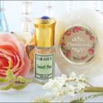 จับคู่สุด Hot !! น้ำหอมฟีโรโมนกลิ่นยอดนิยม Sweet Pea + สบู่ฟีโรโมน Sweet Pea หอมสะใจกันไปเลย !!