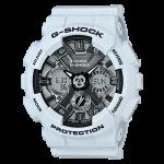 นาฬิกา คาสิโอ Casio G-Shock มินิ S-Series Metal Face series รุ่น GMA-S120MF-2A สีเทาควันบุหรี่(เทาอมฟ้า) ของแท้ รับประกัน1ปี