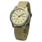 นาฬิกาข้อมือ SEIKO 5 Military Automatic Nylon men's watch รุ่น SNK803K2