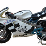 Mini Bike รุ่น HL-G29A สีขาวดำ 49 CC +++สินค้า Pre Order พร้อมส่งภายใน 14 วันค่ะ+++