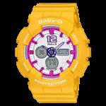 นาฬิกา Casio Baby-G Standard Analog-Digital รุ่น BA-120-9B ของแท้ รับประกัน1ปี