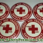 เข็มกลัด First Aid Training สีแดง