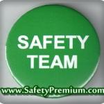 เข็มกลัด Safety Team