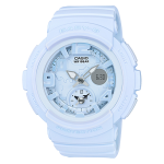 นาฬิกา Casio Baby-G Beach Traveler Pastel Bold Color series รุ่น BGA-190BC-2B (ฟ้าพาสเทล) ของแท้ รับประกัน1ปี