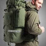 เป้ Backpack 70 ลิตร สีเขียว