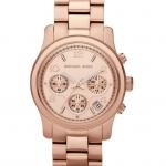 นาฬิกา Michael Kors ไมเคิล คอร์ รุ่น MK5128 Rose Gold Runway Womens Watch