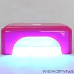 เครื่องอบเจล LED สี่เหลี่ยมขนาดกลาง สีชมพู