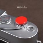 Soft Shutter Release ปุ่มใหญ่ เว้าลง สีเแดง กดง่ายสะดวก สำหรับ Fuji X10 X20 X100 XE1 Leica ฯลฯ (Pre Order)