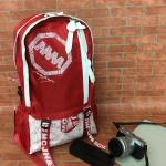 [สีแดง] กระเป๋าเป้สะพายหลัง Z929-3