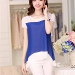 พรีออเดอร์ เสื้อ สีน้ำเงิน มีไซด์ S/M/L/XL/XXL