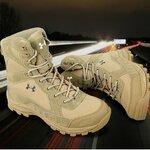 รองเท้า Under Armour สีทราย ข้อยาว