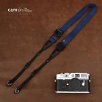 สายคล้องกล้องเส้นเล็กปรับสายสั้นยาวได้ Cam-in รุ่น Ninja สีน้ำเงิน 25 mm