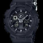 นาฬิกา Casio G-Shock Limited Black out Basic Nilon band series รุ่น GA-100BBN-1A ของแท้ รับประกัน1ปี