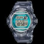 นาฬิกา Casio Baby-G STANDARD DIGITAL รุ่น BG-169R-8B (Jelly ดำใสเทอร์ควอยซ์) ของแท้ รับประกัน 1 ปี