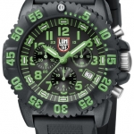 นาฬิกา Luminox รุ่น LUMINOX 3097 Men's Navy SEAL Green Colormark Chronograph
