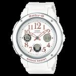 นาฬิกา Casio Baby-G Elegantly Feminine color series รุ่น BGA-150EF-7B (ขาวพิ้งค์) ของแท้ รับประกัน1ปี