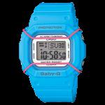 นาฬิกา คาสิโอ Casio Baby-G 200-meter water resistance รุ่น BGD-501-2