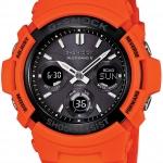 นาฬิกา Casio G-Shock Limited model Rescue Orange series รุ่น AWG-M100MR-4AER สีส้มนักดับเพลิง (Europe) ไม่วางขายในไทย