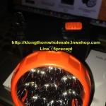 ไฟฉายคาดหัว LED 8 ดวง ชาร์จไฟบ้านได้ YG3595 (NBS3595)ปลั๊กในตัว