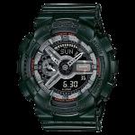 นาฬิกา คาสิโอ Casio G-Shock S-Series Metalic Colors รุ่น GMA-S110MC-3A (สี Forest Green) ของแท้ รับประกัน1ปี