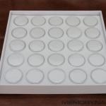 กล่องสีขาว 25 กระปุก