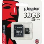 MICRO SD CARD kingston 32 GB CLASS10