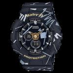 นาฬิกา Casio Baby-G Scratch Graffiti Design series รุ่น BA-120SC-1A ของแท้ รับประกัน1ปี