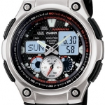 นาฬิกา คาสิโอ Casio STANDARD ANALOG-DIGITAL รุ่น AQ-190W-1A