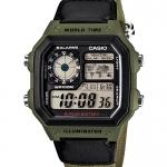 นาฬิกา คาสิโอ Casio 10 YEAR BATTERY รุ่น AE-1200WHB-3BV