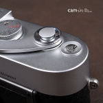 Soft Shutter Release รุ่น Mini 9mm นูนขึ้น สีเงิน สำหรับ Fuji X10 X20 X100 XE1 XE2 Leica