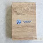 กล่องโชว์ตัวอย่างสี สีไม้ Nail Gel Color Card