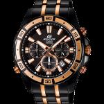นาฬิกา คาสิโอ Casio EDIFICE CHRONOGRAPH Premium Collection รุ่น EFR-534BKG-1AV