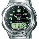 นาฬิกา คาสิโอ Casio 10 YEAR BATTERY รุ่น AQ-180WD-1B