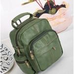 [สีเขียว] กระเป๋าเป้สะพายหลัง Z943-4