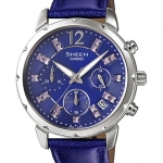 นาฬิกา คาสิโอ Casio SHEEN CHRONOGRAPH รุ่น SHE-5024BL-6A