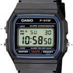 การตั้งเวลานาฬิกา Casio รุ่น F-91W และ F-94W