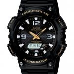 นาฬิกา คาสิโอ Casio SOLAR POWERED รุ่น AQ-S810W-1BV