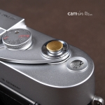 Soft Shutter Release รุ่น Mini 9mm นูนขึ้น สีทอง สำหรับ Fuji X10 X20 X100 XE1 XE2 Leica