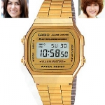 นาฬิกา คาสิโอ Casio STANDARD DIGITAL รุ่น A168WG-9W