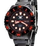 นาฬิกาข้อมือ SEIKO 5 Sports Automatic รุ่น SNZJ21K1 black IP