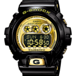 นาฬิกา คาสิโอ Casio G-Shock Standard digital รุ่น GD-X6900FB-1DR ดำทอง (หายาก)
