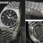 นาฬิกาข้อมือ SEIKO 5 Automatic รุ่น SNK669K1